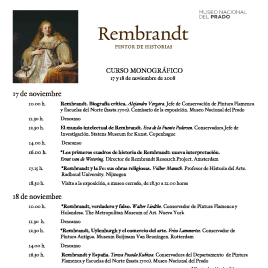 Rembrandt [Recurso electrónico] : pintor de historias : curso monográfico / Museo Nacional del Prado.