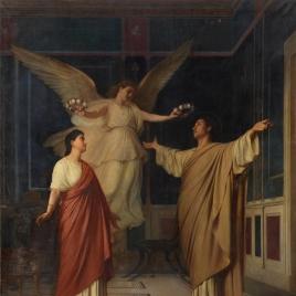 Santa Cecilia y San Valeriano