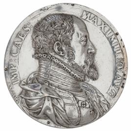 Maximiliano II - María de Austria, su esposa