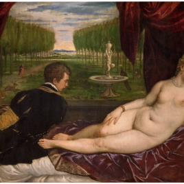 Venus with an Organist and Cupid