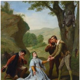 Presentación de Dorotea a Don Quijote