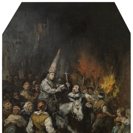 Man condemned by the Inquisition