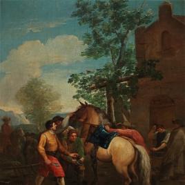A Shoer of Horses