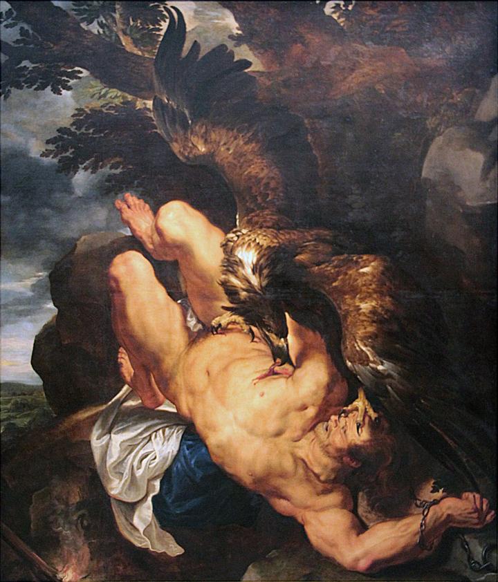 El Prado mostrará Prometeo encadenado de Rubens y Snyders a partir del próximo lunes