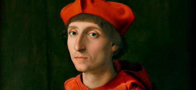 3. El Cardenal de rojo
