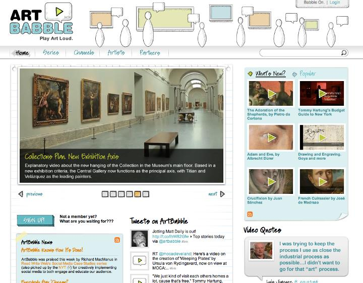 The Museo del Prado joins ArtBabble