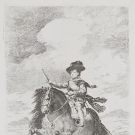 Prince Baltasar Carlos on Horseback