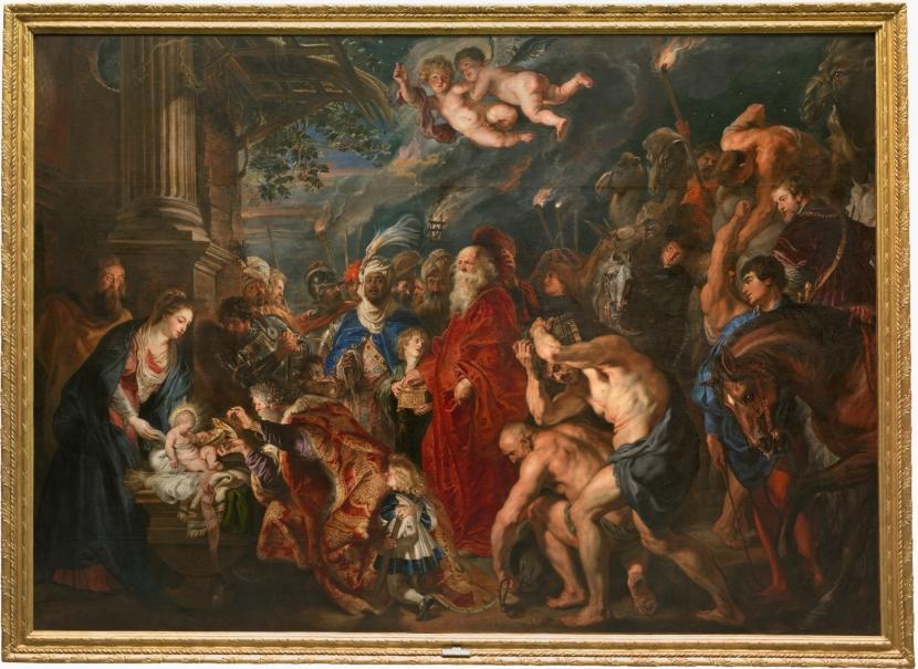 La Adoración De Los Magos Colección Museo Nacional Del Prado