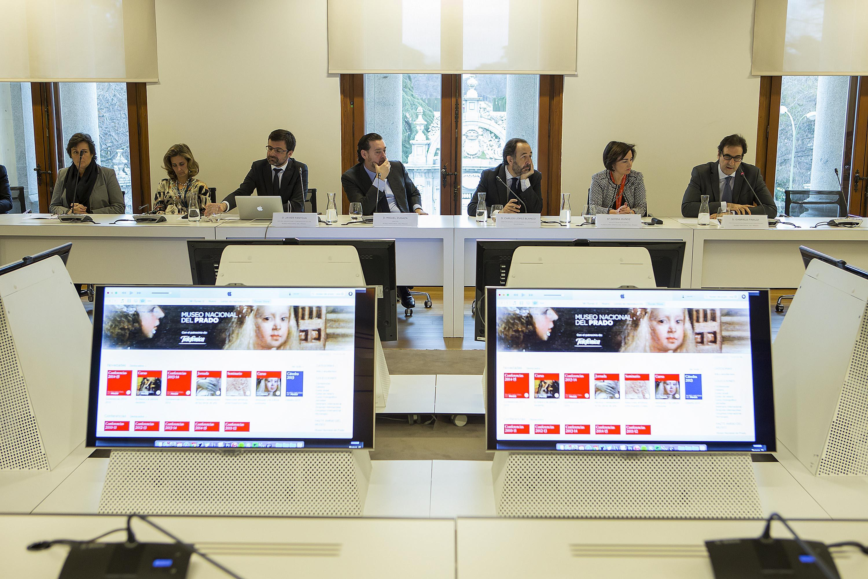 The Prado joins two innovative educational projects, iTunes U channel and MiriadaX