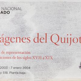 Imágenes del Quijote : modelos de representación en las ediciones de los siglos XVII a XIX [Material gráfico].