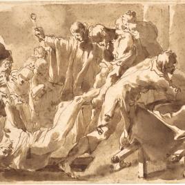 San Carlos Borromeo y la peste de Milán