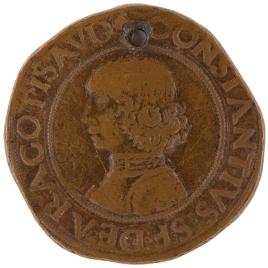 Costanzo Sforza, señor de Pesaro - La fortaleza llamada Rocca Costanza de Pesaro