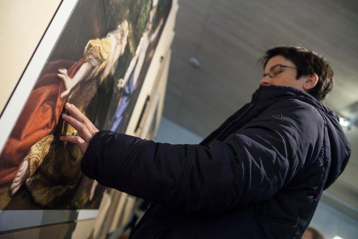 El Museo del Prado se hace accesible a personas con discapacidad visual en el Museo San Telmo de San Sebastián