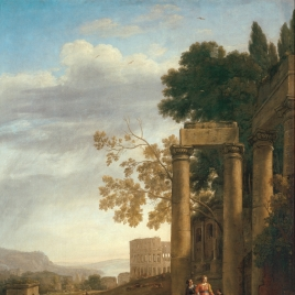 Landscape with the Burial of Saint Serapia