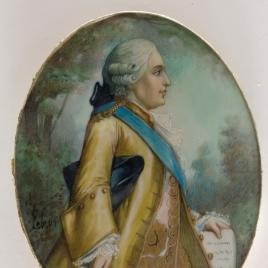 El conde d'Artois, futuro Carlos X de Francia