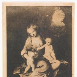 La virgen, el Niño y San Juan