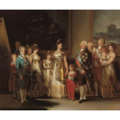 """The Family of Charles IV"""