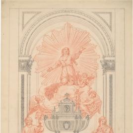 San Isidro en su altar
