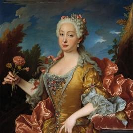 Bárbara de Braganza como princesa de Asturias