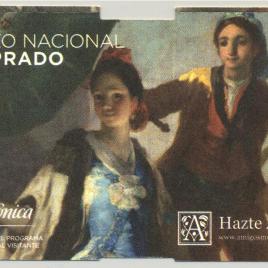Billete de entrada al Museo del Prado en 2013