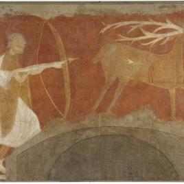 Deer Hunt, Hermitage of San Baudelio, Casillas de Berlanga (Soria)
