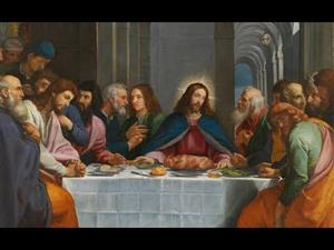 La última cena, de Bartolomé Carducho
