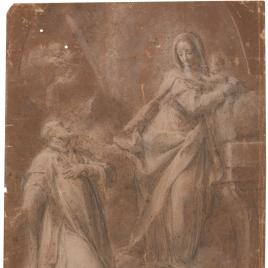 Aparición de la Virgen a San Felipe Neri