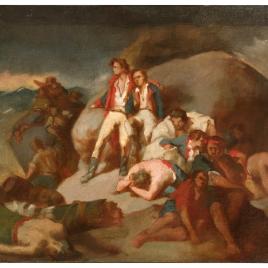 Episodio de Trafalgar (boceto)