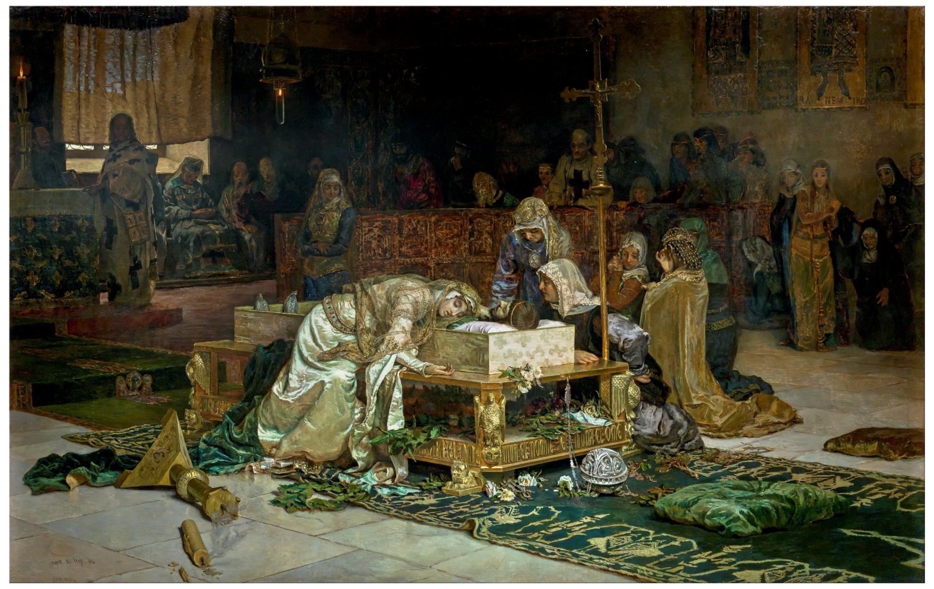 The Lovers of Teruel - The Collection - Museo Nacional del Prado