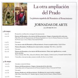 La otra ampliación del Prado [Material gráfico] : la pintura española del Románico al Renacimiento : jornadas de arte / Museo Nacional del Prado.