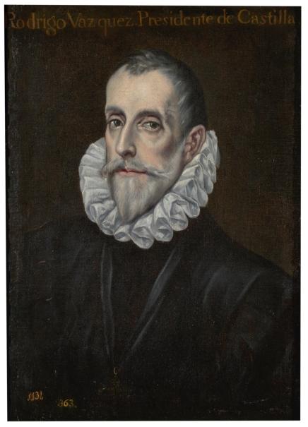 Retrato de don Rodrigo Vázquez de Arce