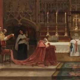 La misa de pontifical
