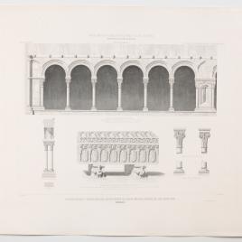 Claustrillas y sepulcro del monasterio de Santa María la Real de las Huelgas en Burgos