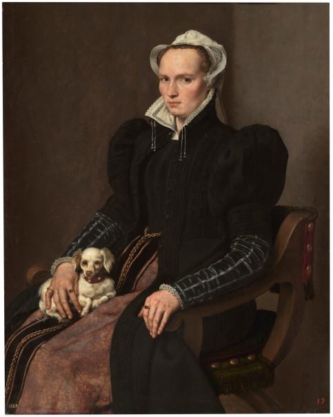 Retrato de mujer sentada