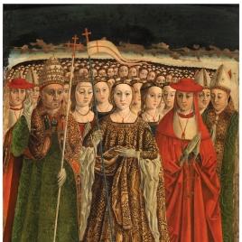 Santa Úrsula con las once mil vírgenes