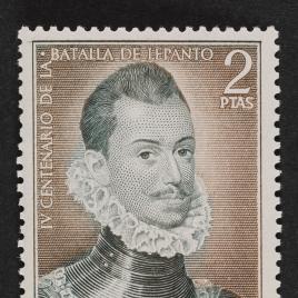 Serie de sellos IV Centenario de la batalla de Lepanto