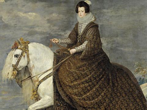 <em>La reina Isabel de Borbón, a caballo</em>, Diego Rodríguez de Silva y Velázquez, comentada por Luis Rosales