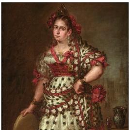 La duquesa de Frías vestida de manola