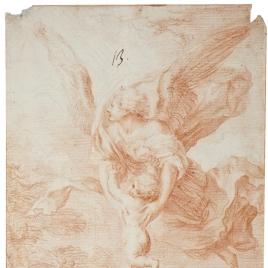 El Ángel de la Guarda con el Niño
