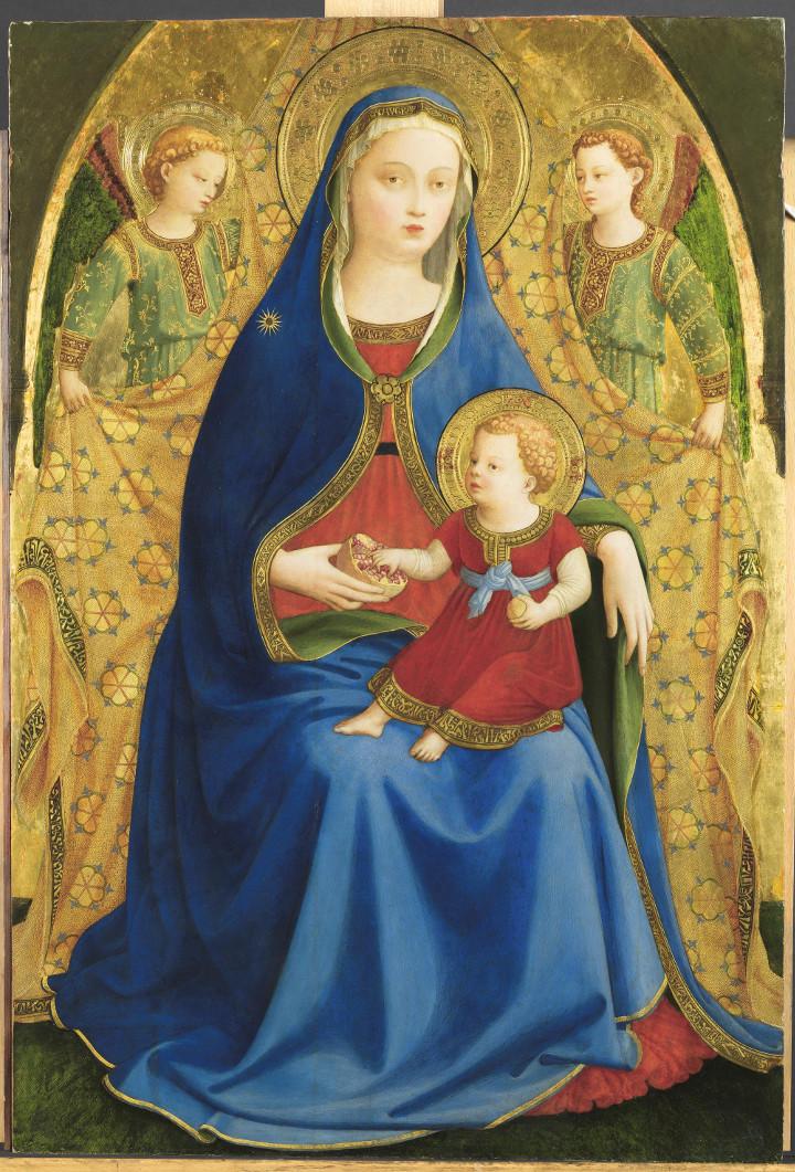 Un nuevo Fra Angélico en el Prado. La Virgen de la granada*