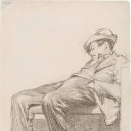 Sketch of a Sleeping Man