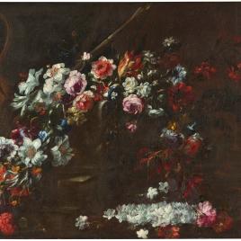 Jarrón con flores