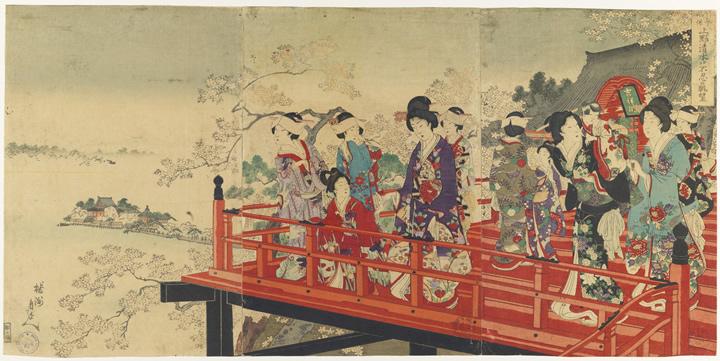 La colección de estampas japonesas