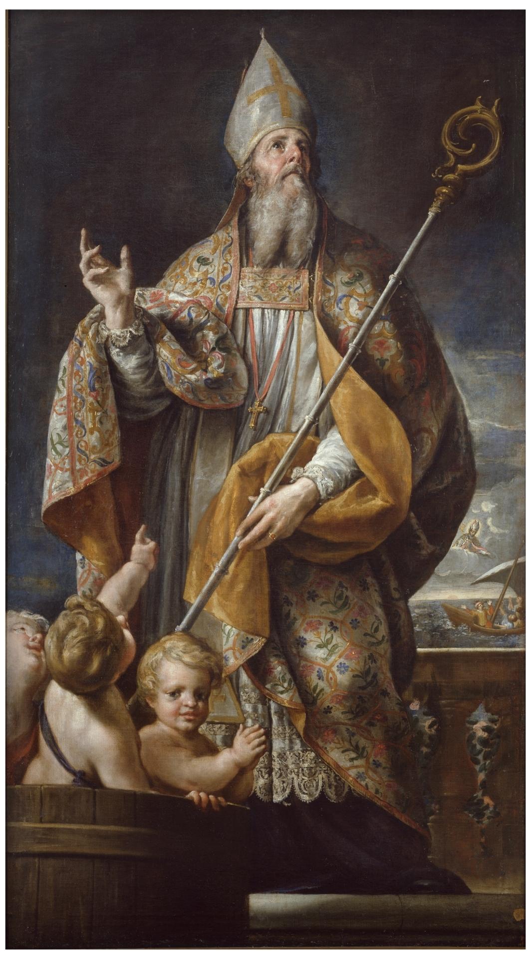 San Nicolás de Bari - Colección - Museo Nacional del Prado