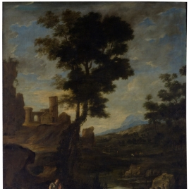 Landscape with Leto and the Peasants Transformed into Frogs