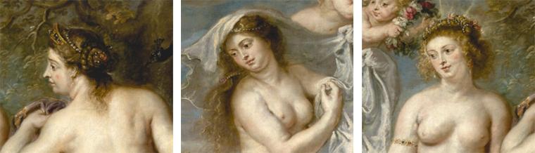 Juno, Minerva y Venus