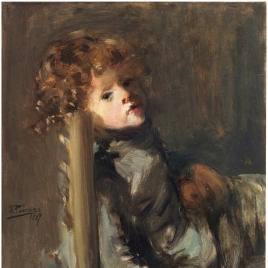 The Artist's Son, Ignacio, Seated