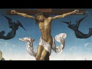 La Crucifixión, del Maestro de la Leyenda de Santa Catalina