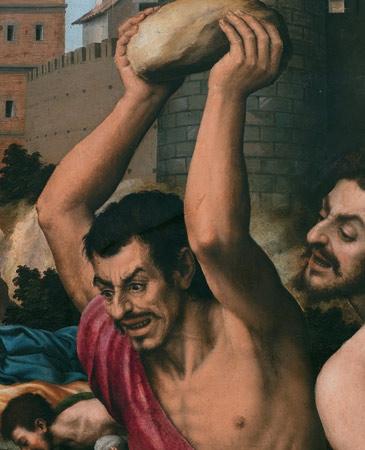 Retablo de San Esteban, de Juan de Juanes