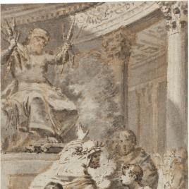 Sacrificio a Júpiter